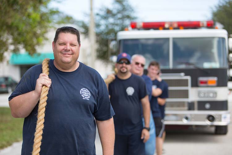 Truck teams pull their weight for St  Baldrick's | People
