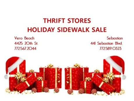 Humane Society To Hold Thrift Shop Holiday Sale All News Featured News Secondary News Holiday Sale Humane Society Of Vero Beach Indian River County Indian River County Sale Vero