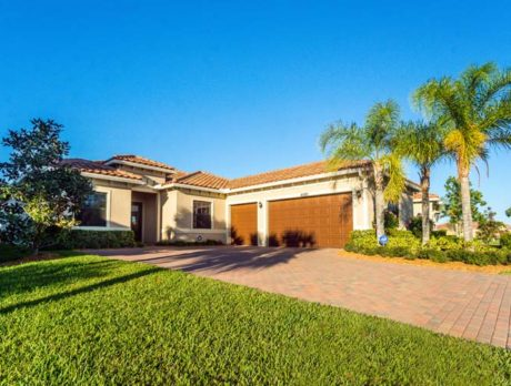 2015 home with loads of upgrades offered in Vero Lago
