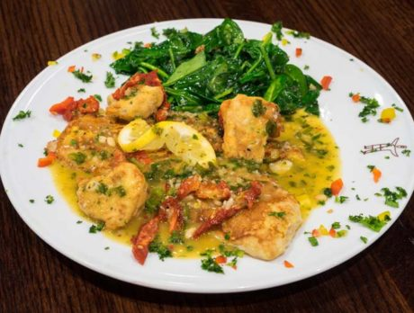 Scampi Grill: Trattoria is hard to beat, inside or out