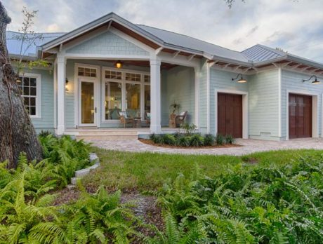 Coastal Craftsman home loaded with high-tech features