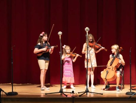Take a bow! Block string camp builds on its success