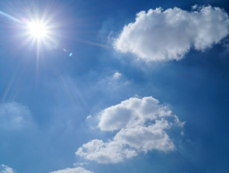 High temps, possible showers this weekend