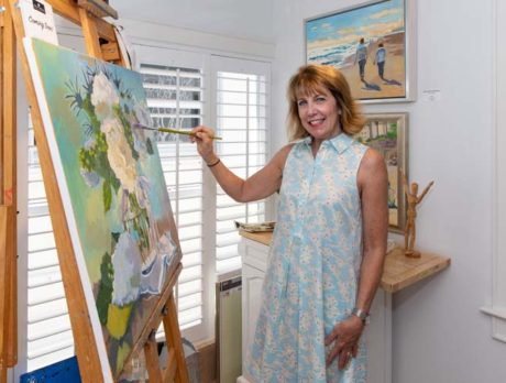 Artist Suzy Mellott captures 'beauty and joy' on canvas