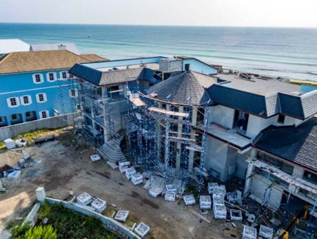 Ambersand's largest home now under construction