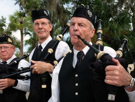 Pride marches to beat of Vero Beach Pipes and Drums