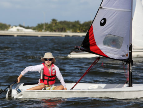 Youth sailors win in 2nd annual Veterans Day Regatta