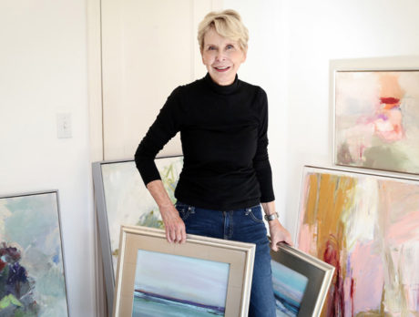 Artist Barone embraces the 'constant struggle' of painting