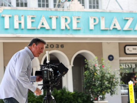 Coming attraction: Filmmaker's 'Vero Theatre' homage