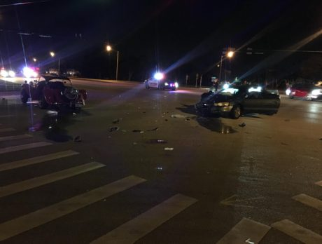 Indian River Blvd. reopens after crash that ejected man