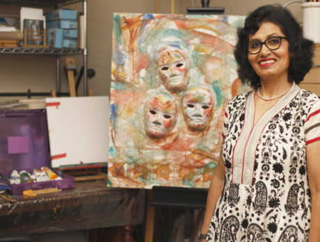 Minakshi De's captivating art reflects her life's journey