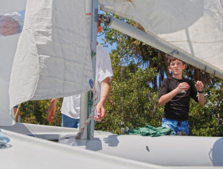 Sailors' skills shine at record-setting 'Martin Regatta'