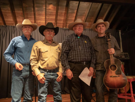 Poetry & BBQ benefit: How 'bout them Cowboy poets!
