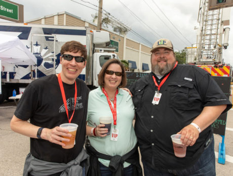 Showing UP in record numbers to enjoy 'Burgers & Brews'