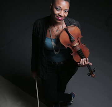 All that Mazz jazz! Violinist joins Block String Camp