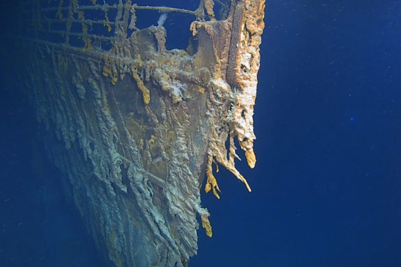 First human occupied submarine dive in 14 years to Titanic made by Triton