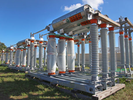 New FPL substation takes shape across from sewer plant