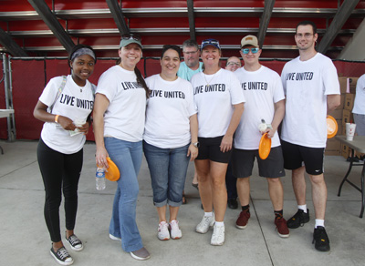 Imagine that! Volunteers unite for 'Day of Caring'