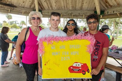 Finding support for rare cancer fight at 'Hunt for Hope'