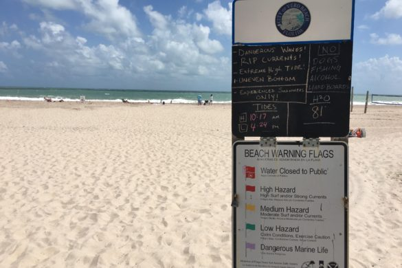Weather officials issue rip current advisory