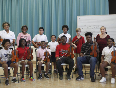 Gifford Youth Orchestra exemplifies the magic of music