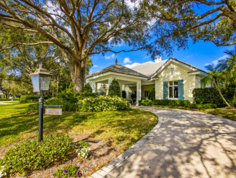 Waterfront Moorings home loaded with Southern charm