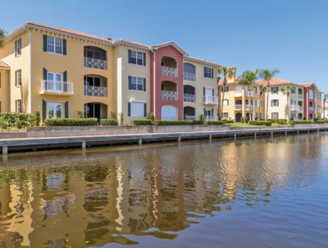 Enjoy the resort lifestyle in Grand Harbor waterfront condo