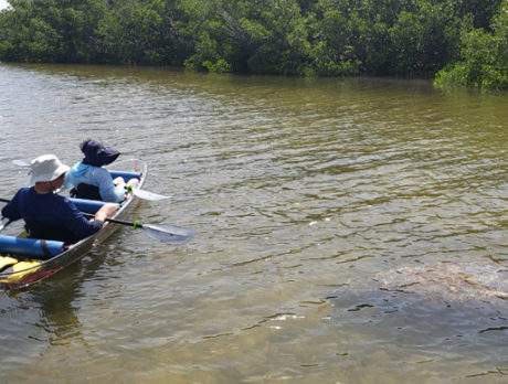 Coming Up: See-through canoe offers unique look at lagoon