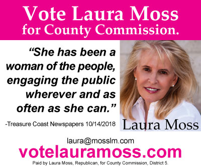 Candidate Laura Moss 400