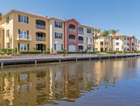 Grand Harbor condo offers marina views, resort lifestyle