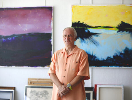 New directions: Artist Shapiro embraces a changing world