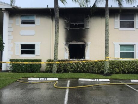 Woman dies in condo fire that caused evacuation, officials say