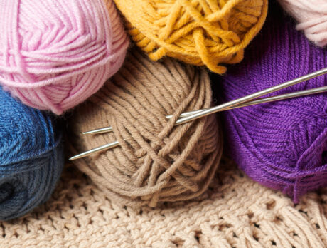 Weave your way through  pandemic stress by knitting