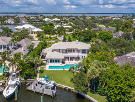 Riverfront 'Moorings' home comes with pool and dock
