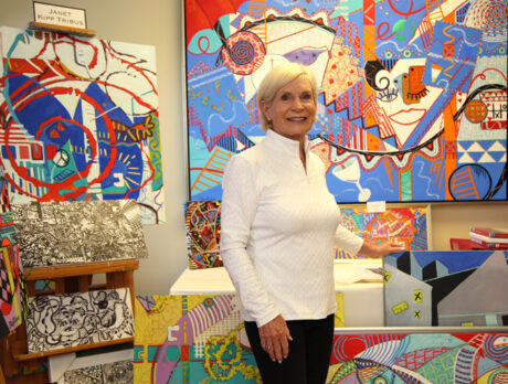 Addition by abstraction: Artist finds joy in new genre