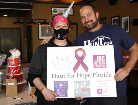 'Hunt for Hope': Determined to defeat insidious cancer