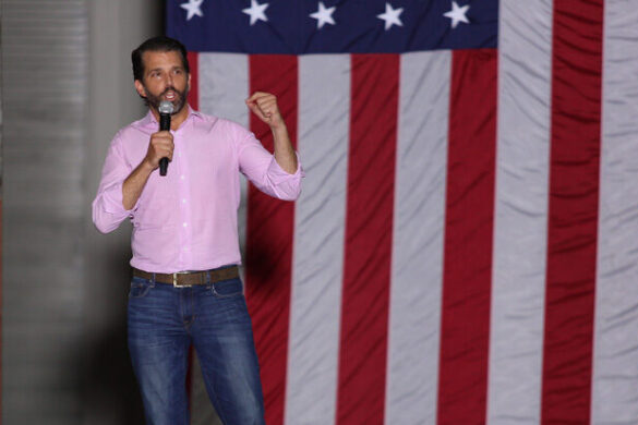 'This crowd is incredible' – Cheers ring out at Donald Trump Jr. rally