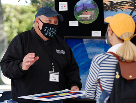 Cold temps, warm reception greet 'Art in the Park' show