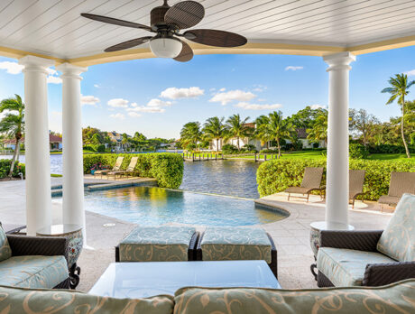 Classic 'Moorings' home graced with unobstructed river views