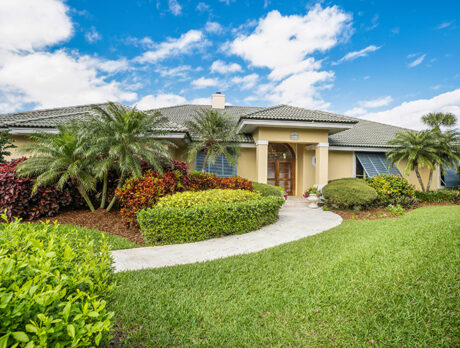 Village Shores home comes with gorgeous landscaping