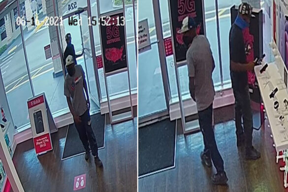 Police seek to ID suspects in theft of T-Mobile phones