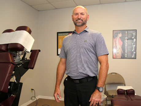 His own football injuries inspired chiropractor's career