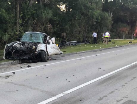 1 seriously hurt in 2-vehicle crash at 66th Avenue